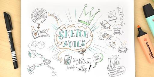 Sketchnotes - bildliche Notizen für einfach alles!