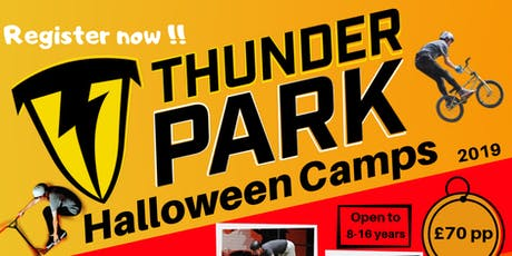 Halloween Boot-Camp at Thunder Park tickets