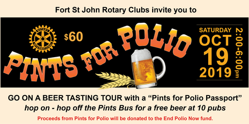 Pints for Polio Fort St John