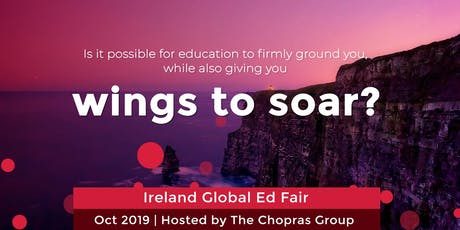 Ireland Global Ed Fair 2019 In Chennai Hosted by The Chopras tickets