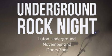 Underground Rock Night tickets