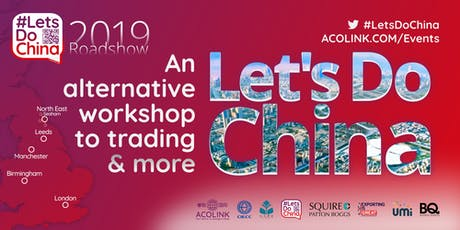 Let's Do China — NORTH EAST: The alternative workshop to trading (Roadshow) tickets