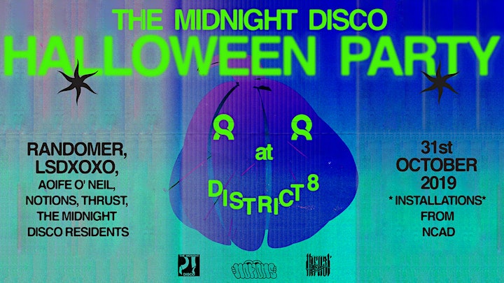 The Midnight Disco Halloween Party at District 8 image