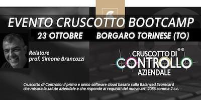 BOOTCAMP CRUSCOTTO DI CONTROLLO, Torino, 23 ottobre