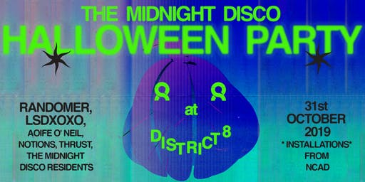 The Midnight Disco Halloween Party at District 8