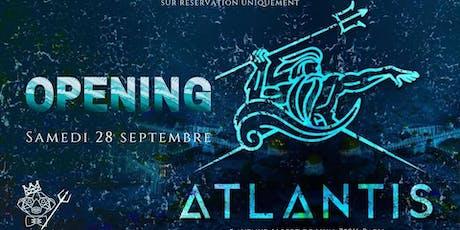 Atlantis x Events2gether Paris billets