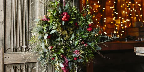 Petal and Feast Christmas Wreath Making Workshop tickets