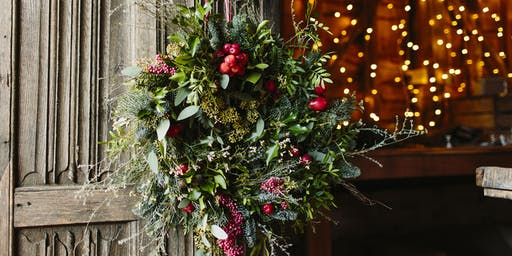 Petal and Feast Christmas Wreath Making Workshop