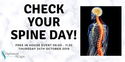 FREE Spine & Posture Checks Day in Reading!!!