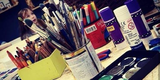Children's Afterschool Art Class with @Learn2Draw November Block