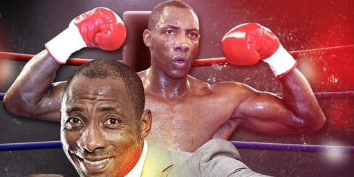 An evening with boxing legend Johnny Nelson