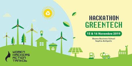 Hackathon GreenTech by WHAT06 billets