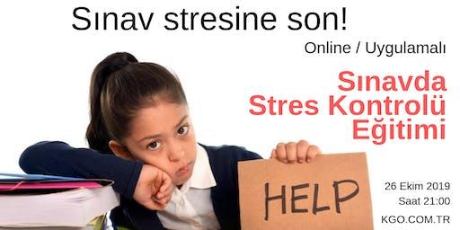 Sınavda Stres Kontrolü Eğitimi