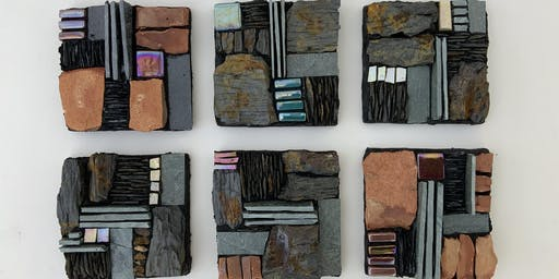 Mini Slate Mosaic Workshop with @racheldaviesmosaics