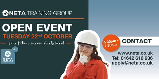 NETA Training Open Evening