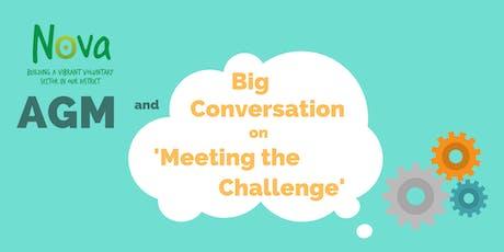 Nova's AGM and 'Big Conversation' Session tickets
