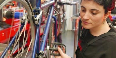 Basic bicycle maintenance [Manchester]