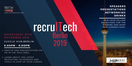 recruITech Berlin 2019 Tickets