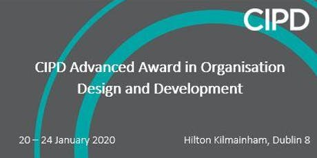 CIPD Advanced Award in Organisation Design and Development  tickets
