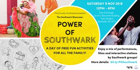 Power of Southwark: a day of FREE fun activities for all the family! tickets