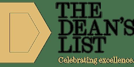 L3 UG: Dean's List Information Session - Semester 2 tickets