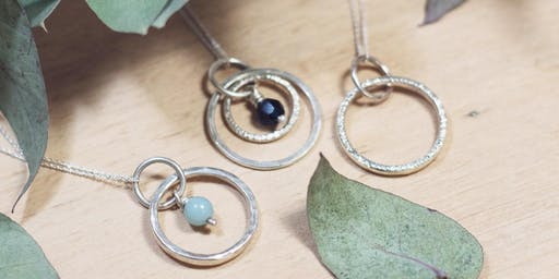 Make a Silver Pendant Necklace — Beginners Silversmith Workshop