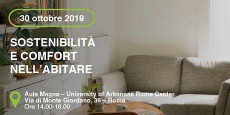 ROMA - Sostenibilità e comfort nell'abitare biglietti