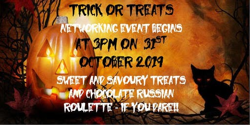 Halloween Trick or Treats Networking Event