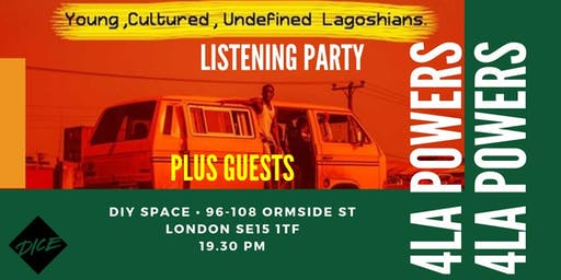 Selective Hearing Presents: 4LA Powers #YCUL Listening Party