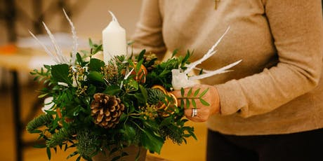 Natural Christmas Table Decoration Workshop tickets