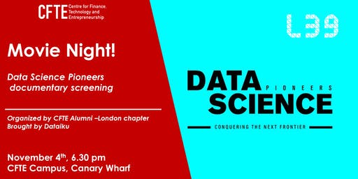 Data Science Pioneers: Conquering the Next Frontier - Exclusive Screening