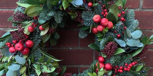 Blend & Bloom Christmas Wreath Workshop