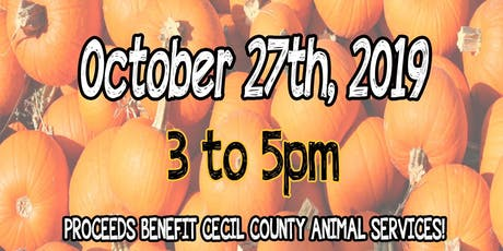 Painting Pumpkins for Paws tickets
