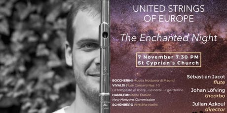 The Enchanted Night - Sébastian Jacot's London solo debut tickets