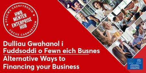 Dulliau Gwahanol i Fuddsoddi yn eich Busnes | Alternative Business Finance
