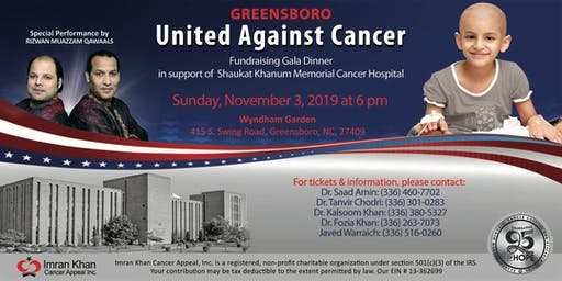 Fundraising  Gala Dinner in Greensboro