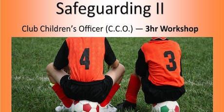 2019 KRSP Safeguarding 2 - Club Children's Officer tickets