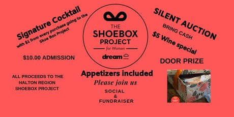 Halton Region Shoebox Project ~ Social & Fundraiser tickets