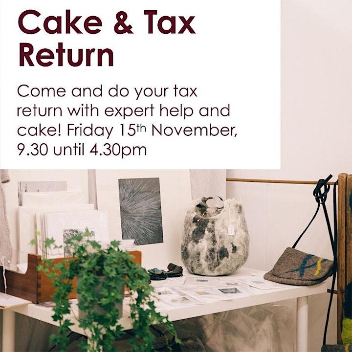 Cake & Tax Return image