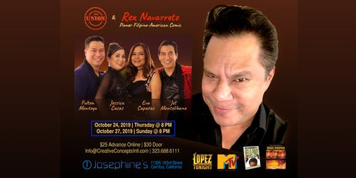 Rex Navarrete and The Union - A Special Night of Music and Laughter!