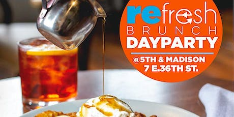 Refresh Brunch: with Food From Suede & Caribbean Soical tickets