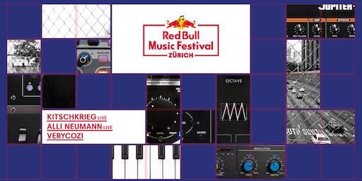 Red Bull Music Festival Zürich: KitschKrieg / Alli Neumann / VERYCOZI