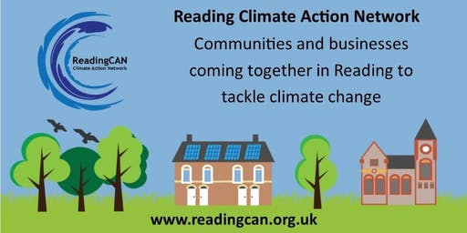A Climate Change Adaptation Plan for Reading - a public presentation