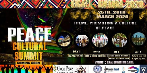 PEACE CULTURAL SUMMIT 2020