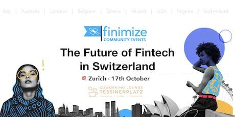 Fintech in Switzerland: What's next? tickets