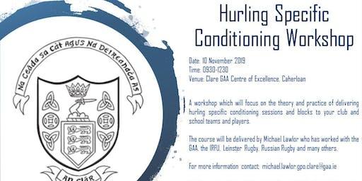 Hurling Conditioning Workshop