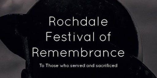 Rochdale Festival of Remembrance 2019