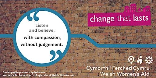"Change That Lasts: ""ask me"" Community Ambassador training (18th Jan and 25th Jan)"