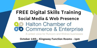 FREE Digital Skills Training - Social Media Marketing & Web Presence