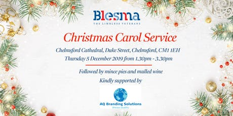 Blesma Christmas Carol Service tickets